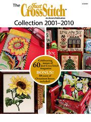 Needlework - The Just CrossStitch 2001-2010 Collection DVD - $49.95