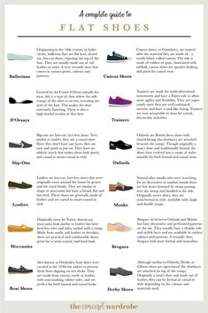 A Visual Reference Guide for Flat Shoes the concept wardrobe Fashion Terminology, Fashion Terms, Fashion Guide, Diy Fashion, Indian Fashion, Fashion Ideas, Semi Formal Shoes, Double Monk Strap Shoes, Fashion Dictionary