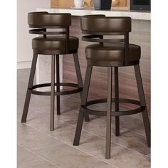 Kitchen Island Stools With Backs, Black Counter Stools, Bar Stools With Backs, Swivel Counter Stools, Bar Counter, Counter Height Bar Stools, Cool Bar Stools, Industrial Bar Stools, Metal Bar Stools