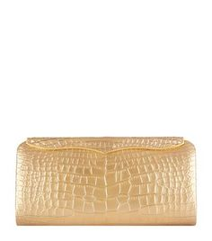 Lana Marks Cleopatra Crocodile Clutch Bag available to buy at Harrods. Shop online and earn Rewards points.