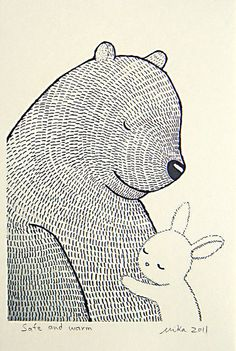 bunny by Paul+Paula, via Flickr