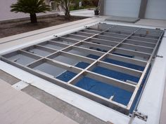 Swimming Pool Construction, My Pool, Pool Houses, Pool Ideas, Cover Design, Ideas Para, Swimming Pools, Flooring, Building