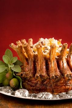 Pork Crown Roast with Stuffing