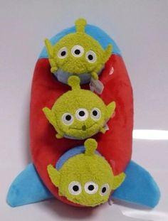 Little Green Men Tsum Tsum Disney Plush, Disney Tsum Tsum, Disney Toys, Disney Pixar, Disney Stuff, Toy Story Plush, Disney Store Japan, Walter Elias Disney, Tsumtsum