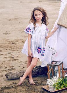 Nellystella Ava Dress in Navy Dobby Stripe