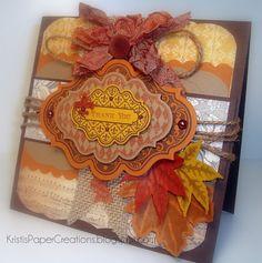 Kristi's Paper Creations: November 2011