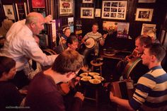 Stop in Sligo town.  The Fleadh Ceol (Traditional Irish Festival) was held here this year.