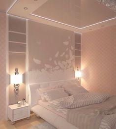Спальня для молодой девушки фото #1