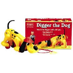 "Digger the Dog ""Digger the Dog, diggin' he goes with you, when you explore, he's your dog for sure!"""