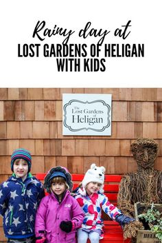 Is it Worth Visiting The Lost Gardens of Heligan in the Rain with Kids? - Mini Travellers Is it worth visiting The Lost Gardens of Heligan in the rain with Kids?  The overwhelming answer to this question is yes.  You need the right clothes on and you need to enjoy being outside, but we had a fun 3 hours there on a wet January day with three 5 year olds and a 2 year old.
