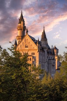 Fairy Castle by sebastian Tontsch on 500 px, Neuschwanstein Castle in Bavaria,Germany