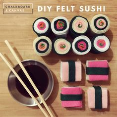 New on the C&C Blog! This photographic DIY guide shows you how to make delightful felt sushi for your dramatic play center.