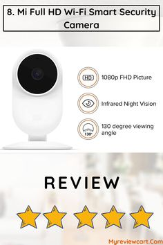 This Mi CCTV Camera Is Perfect For Your Home And Comes With Super Security Features And A Lot Of Functionality. You Can Easily Control This CCTV Camera Through Your Phone And Take Access To Multiple Views On Your Phone's Screen. Cctv Camera For Home, Office 2020, Security Camera, Hd 1080p, Night Vision, Cameras, Wifi, Phone, Backup Camera