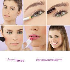 Verde + rosa é uma das opções de look para esse verão. http://www.adoromaquiagem.com.br/dicas-maquiagem/novidades-tendencias/maquiagem-para-o-verao-2013/16155/ #dica #look #maquiagem