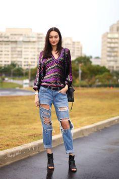 Sao Paulo Street Style - Street Style From Sao Paulo Fashion Week - Harper's BAZAAR
