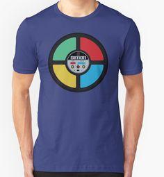 simon Slim Fit T-Shirt Tshirt Colors, Classic T Shirts, Shirt Designs, Mens Tops, Stuff To Buy, Brain, Solid Colors, Phone Case, Gaming