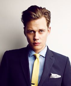 Bill Skarsgård- the only reason to watch Hemlock Grove and the only person hotter than his brother Alexander Skarsgård