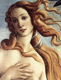 Sandro Botticelli The Birth of Venus detail , Galleria degli Uffizi, Florence. Read more about the symbolism and interpretation of The Birth of Venus detail 3 by Sandro Botticelli. Italian Renaissance Art, Renaissance Kunst, Renaissance Paintings, Giorgio Vasari, The Birth Of Venus, Beauty In Art, Poses References, Classic Paintings, Fine Art