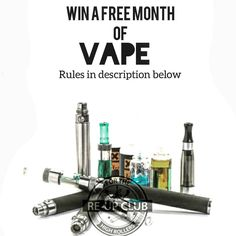We are introducing a new #vaping #subscriptionbox due to #requests and #high #popularity from those in the #vapingcommunity like you.  To qualify 1. like this #pic  #follow us @reup_club  2. post a #video of what's your favorite flavor to #reupclub  4. tag 5 #friends in the comments www.reupclub.com We will contact the winner via DM  Lastly enjoy life as a #highroller ! by reup_club