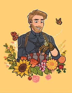 Steve Rogers deserves happiness and love yet here we are