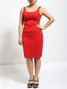 #yoshop.com - #yoshop Sleeveless Back Zipped Backless Dress - AdoreWe.com