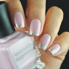 'Shape of My Heart' by @Deborah lippmann is a blush pink.  I topped it with essie's 'Hors D' oeuvres' ✨ You can purchase this gem at @chicnailstyles, click on the link in her bio that takes you directly to her website. Enjoy free shipping on almost everything in her shop!  by nails_by_cindy@instagram