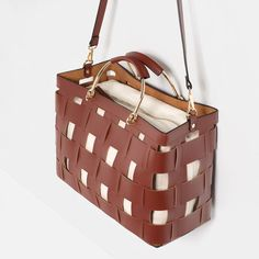 Image 3 of BASKET TOTE from Zara