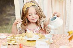 {Glitter and Gold Tea Party} Salt Lake City, UT Children's Photographer » Salt Lake City Photographer{Lou Lou Photography}Utah fine art newborn, infant, child and family photography