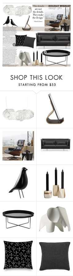 """""""Design Gift Wishlist"""" by sophie-martina ❤ liked on Polyvore featuring interior, interiors, interior design, home, home decor, interior decorating, Belux, Ciseal, Vitra and DwellStudio"""