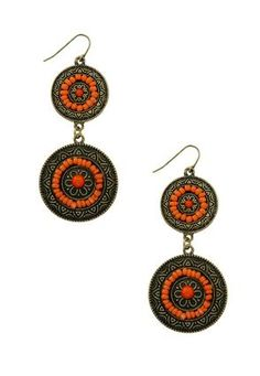 Cato Fashions Ethnic Double Disc Earring #CatoFashions #catosummerstyle