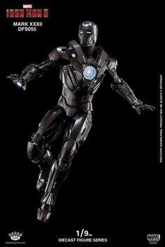 Iron Man 3 DFS055 Iron Man Mark XXXII Romeo 1/9 Scale Figure Iron Man Fan Art, Iron Man 3, Iron Man Wallpaper, Marvel Wallpaper, All Iron Man Suits, Iron Man Poster, Hot Toys Iron Man, Iron Man Movie, Iron Man Avengers