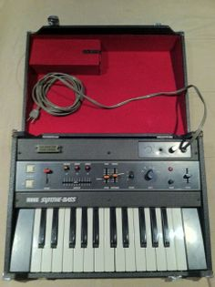 MATRIXSYNTH: Korg Synthe-Bass SB-100 *analog synthesizer* SN 78...