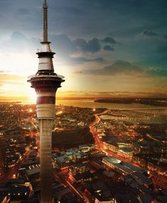Auckland, New Zealand Sky Tower