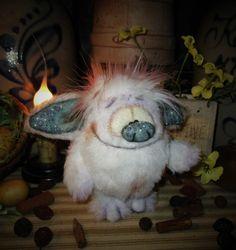 "Primitive Goth Troll Monster Goblin 4"" Jointed Doll Patti's Ratties Bear Artist"