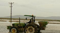 """Devriye Haber : Yağmurlar  İpsala'da   Çeltik Ekimini Geçiktirdi"""""""