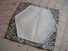 sew & flip hexagon tutorial! | Jaybird Quilts