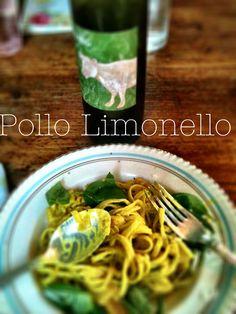 Pollo limonello, so delicious!