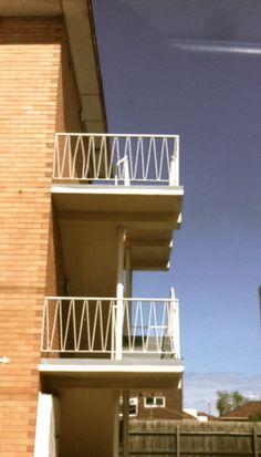 Mid Century Melbourne balustrade