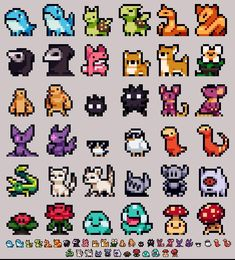 + Pixel Art + Pixelstuff If you buy seeds then plant them according to the directions. Animation Pixel, How To Pixel Art, Modele Pixel Art, Pixel Art Games, Pixel Art Food, Pix Art, Pixel Art Templates, Perler Bead Art, Perler Beads