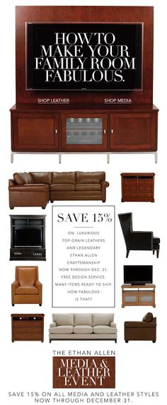 Ethan Allen email 2014  email design email marketing