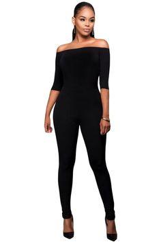 49f7b14045 17 Best Black Strapless Jumpsuit images