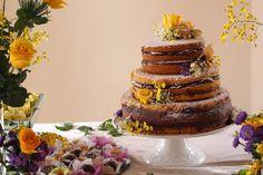 Nakedcake de maracuja com chocolate By Mari Buim Confeitaria!