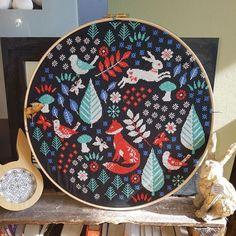 modern cross stitch pattern