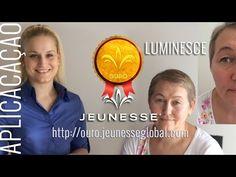 Aplicar a linha Luminesce da Jeunesse | Team Ouro Global | Melhor Video