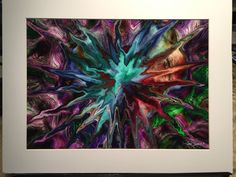 Big Bang - Numbered Limited Edition Only 50 Artist Signed Metallic Prints Matted for Framing - Home Wall Decor Collectible - USA Ships Free