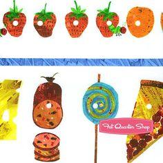 The Very Hungry Caterpillar Munch, Munch, Munch Yardage<BR>SKU# 3472-M