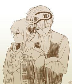 Sougo Okita x Kagura [OkiKagu], Gintama Anime Love Couple, Cute Anime Couples, Manga Anime, Anime Art, Gintama Wallpaper, Okikagu, Image Manga, Tsundere, Anime Ships