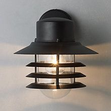 Buy Nordlux Vejers Outdoor Wall Lantern Online at johnlewis.com