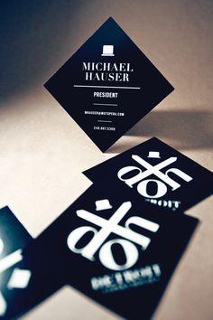 Mini Square Business Cards, Business Cards, Creative Business CardsPixel2Pixel Design