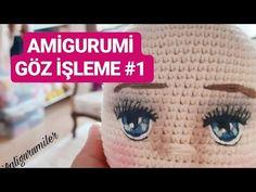 Free ideas every day Crochet Dolls, Knit Crochet, Crochet Hats, Doll Clothes Patterns, Doll Patterns, Amigurumi For Beginners, Amigurumi Tutorial, Doll Eyes, Amigurumi Toys